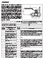 Warranty terms, instructions for assembly and operation - Ball valves for gas installations, with straight lever - type G18